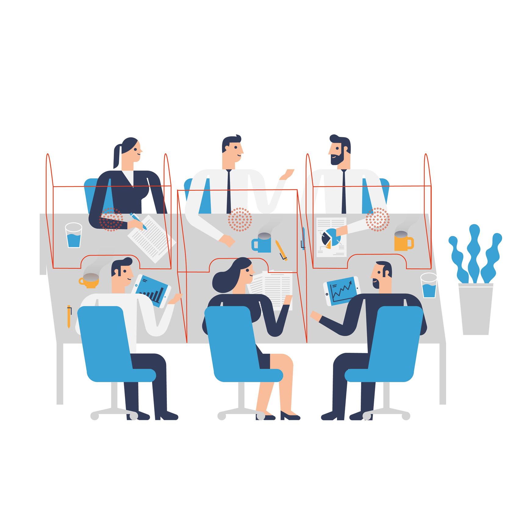 cloison-de-protection-pour-bureau-espace-de-travail